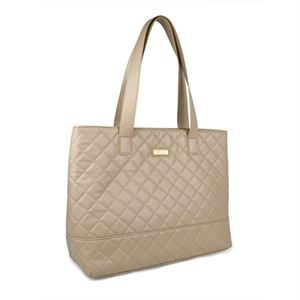 Picture of Gigi Hill Anne Tan Quilt Large Tote
